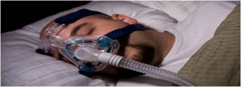 CPAP Sleep Apnea Treatment Device